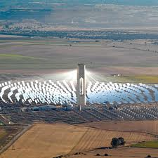 Abengoa's Solar Thermal Plant in Andalucia, Spain
