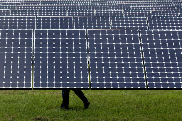 The Desoto Next Generation Solar Energy Center in Arcadia Florida