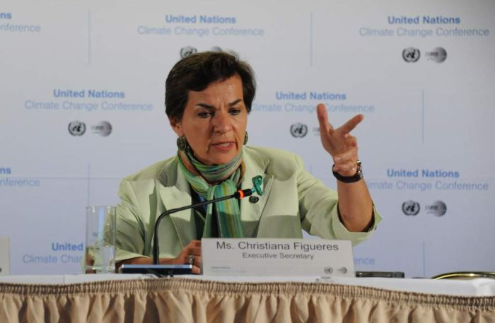 Executive Secretary of the   UNFCCC