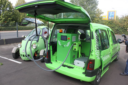 The Angel Car: A Mobile Car Charging Station