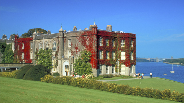 Plas Newydd used to consume 1800 litres of oil a day.