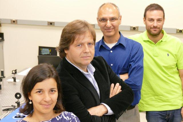 "Co-inventors, Maria Antonietta Vincenti, Dr. Michael Scalora, Neset Akozbek, and Domenico de Ceglia, of the recent patent, ""Photonic Bandgap Solar Cells"" performed their research and development in the Charles M. Bowden Research Facility at Redstone..."
