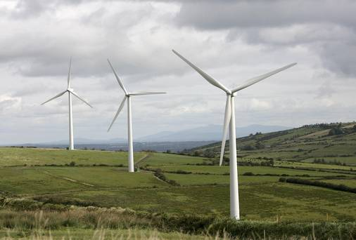 Wind energy is expected to account for 36 percentage points of the 40pc target.
