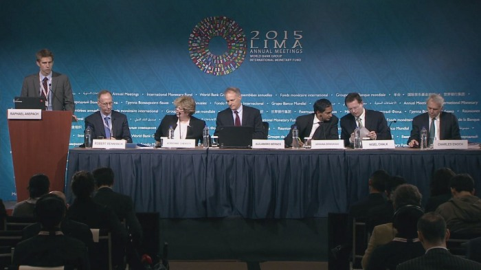 The IMF UNEP Lima meetings