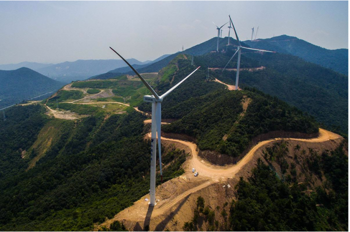 China installed a whopping 32.5 gigawatts of wind energy capacity last year Xu Yu/Xinhua Press/Corbis